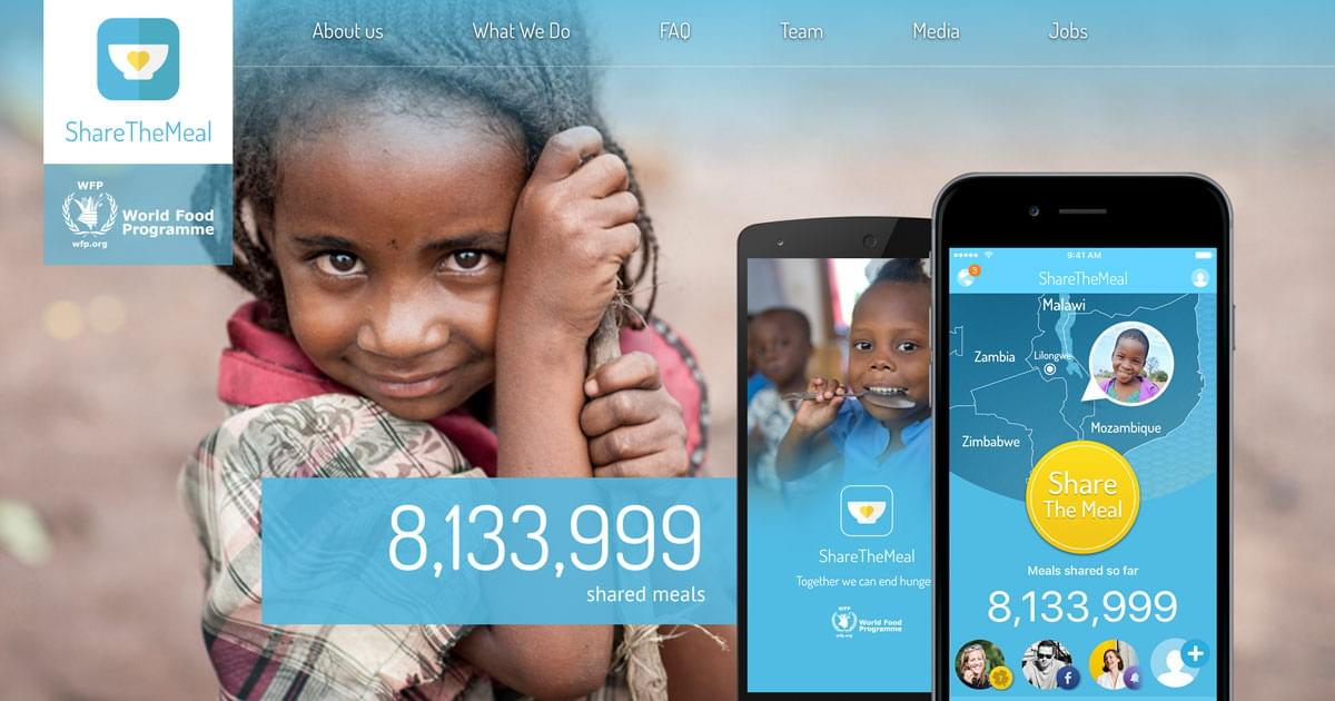 About us ? ShareTheMeal